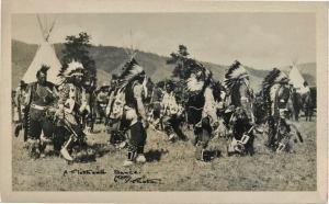 Flathead dancers 1940